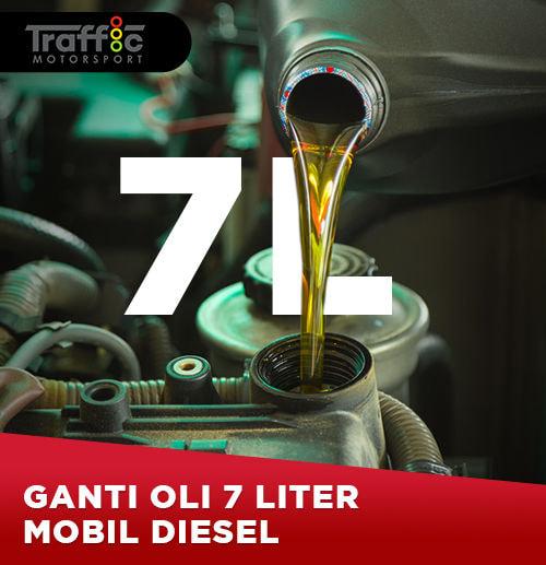 Ganti Oli Mobil Diesel 7 Liter (Area Surabaya)