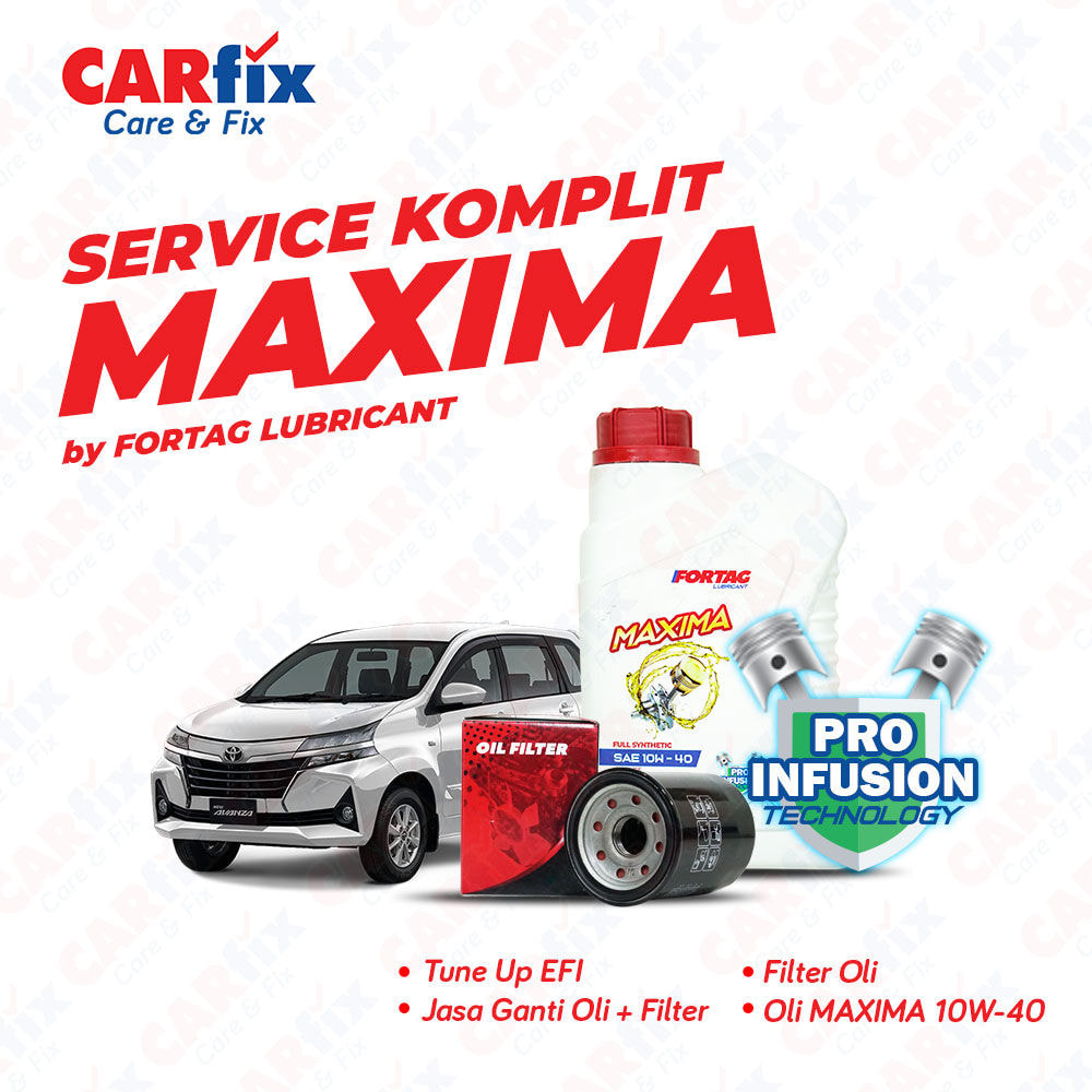 Paket Service Komplit Fortag Maxima - Jabodetabek