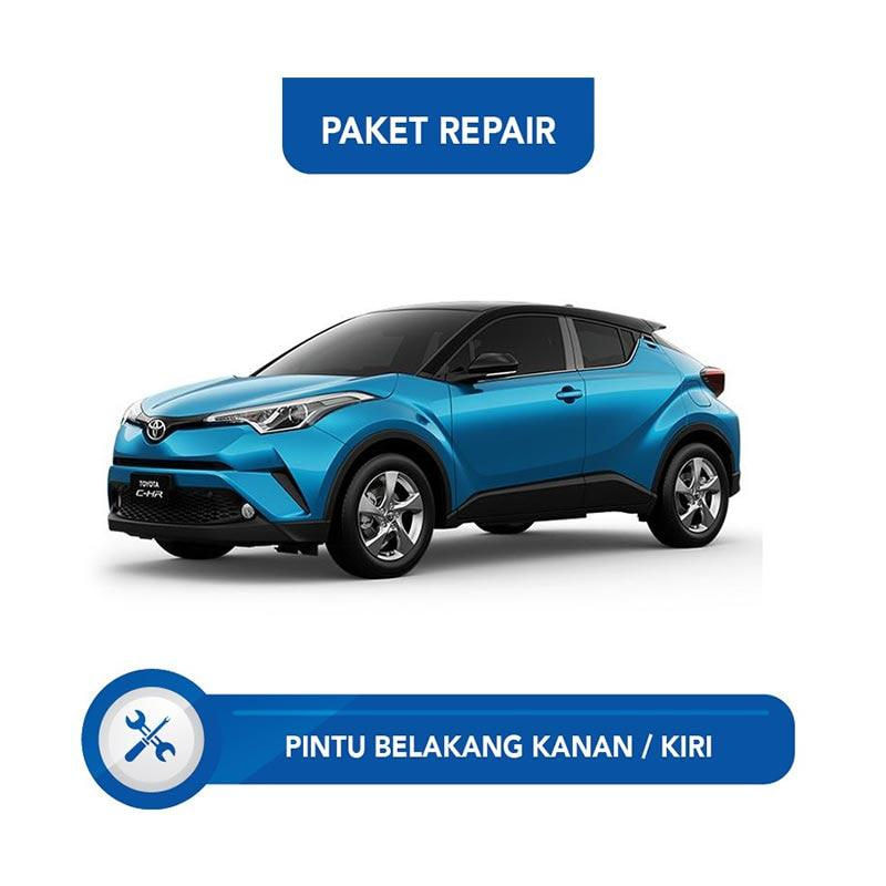 Subur OTO Paket Jasa Reparasi Ringan Cat Pintu Belakang Kanan - Kiri Mobil for Toyota CHR