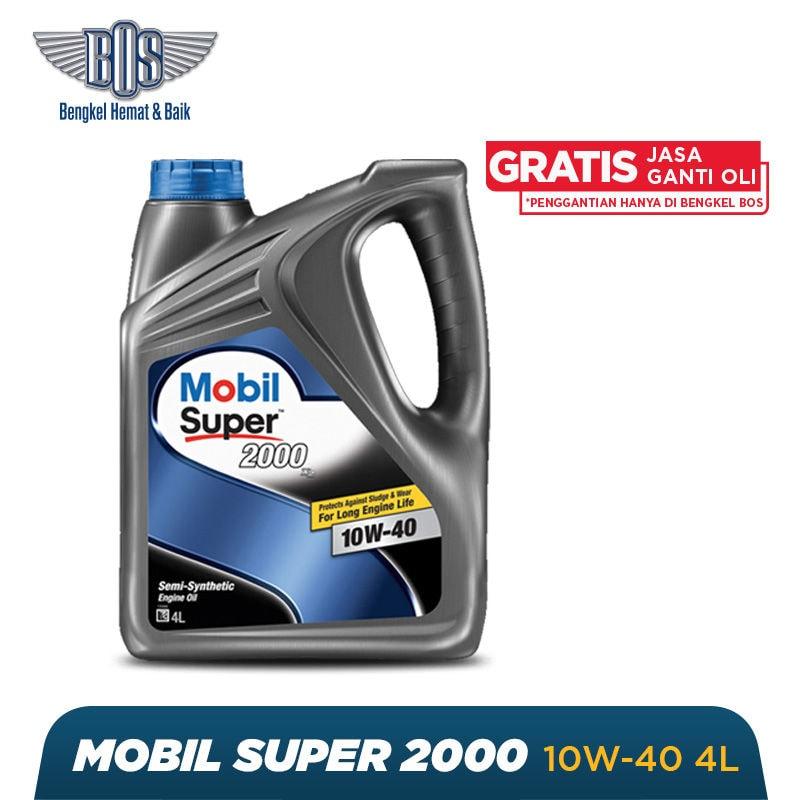 Paket Ganti Oli Mobil (4 Liter) + Gratis Jasa