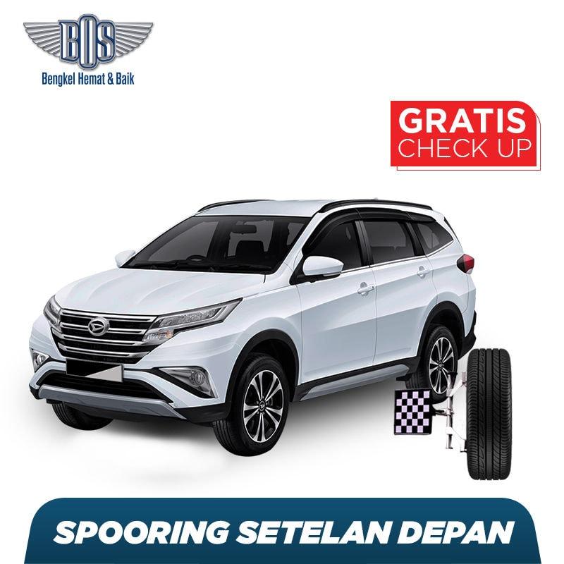 Spooring Setelan Depan + Free Check-up 58 Komponen Kendaraan