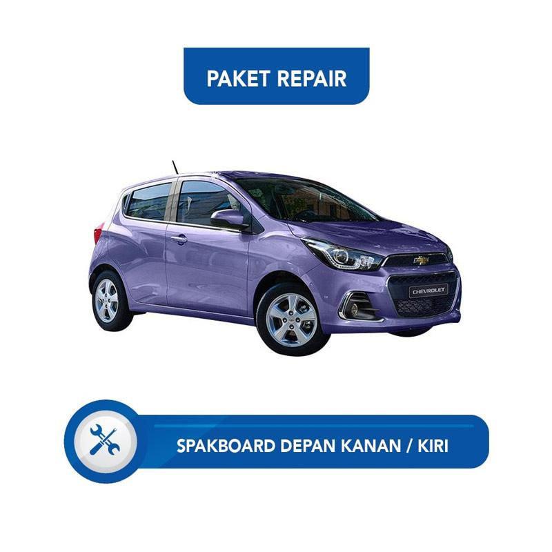 Subur OTO Paket Jasa Reparasi Ringan & Cat Spakbor Depan Kanan atau Kiri Mobil for Chevrolet Spark