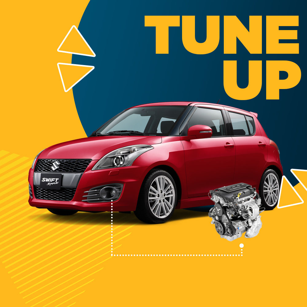 Tune-up + Free Check-up 58 Komponen Kendaraan