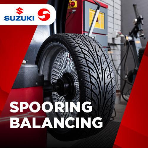 Paket Spooring Balancing