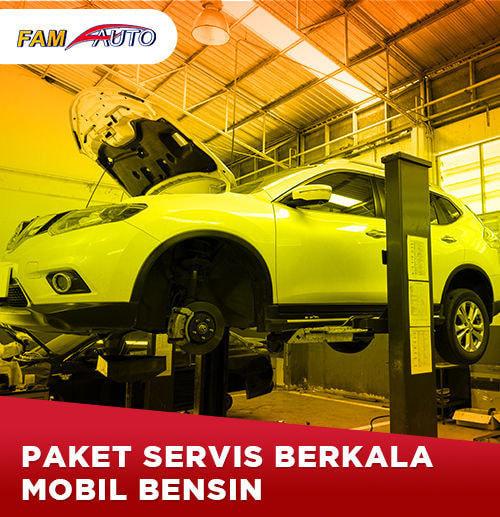 Paket Service Berkala Mobil Bensin