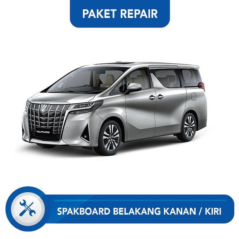 Subur OTO Paket Jasa Reparasi Ringan & Cat Spakbor Belakang Kanan atau Kiri for Mobil Alphard