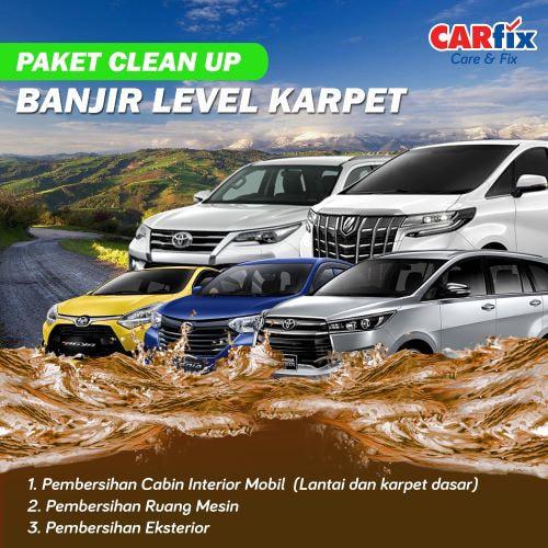 Paket Clean Up Banjir Level Karpet - Jateng+DIY