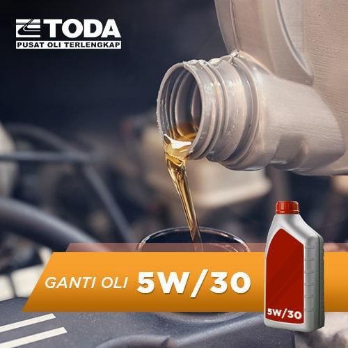 Paket Ganti Oli 4 Liter - 5W/30