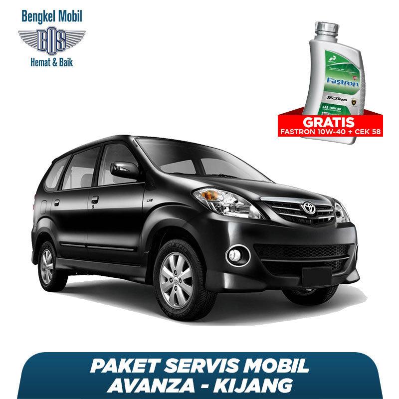 Paket Servis Mobil Avanza/Kijang Gratis Oli Fastron 1 Liter Techno 10W-40