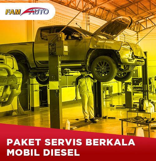 Paket Service Berkala Mobil Diesel