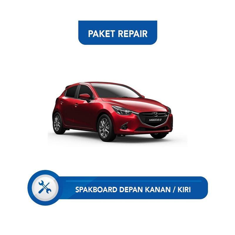 Subur OTO Paket Jasa Reparasi Ringan & Cat Mobil for Mazda 2 [Spakbor Depan Kanan atau Kiri]