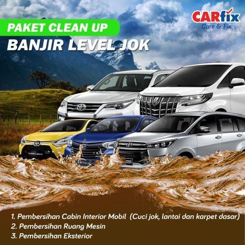 Paket Clean Up Banjir Level Jok - Jateng+DIY