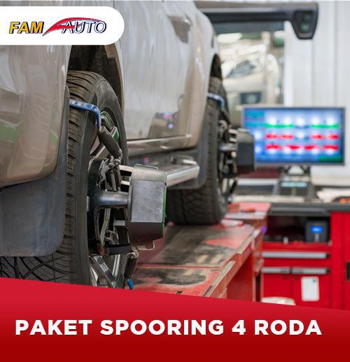 Paket Spooring + Balancing 4 Roda