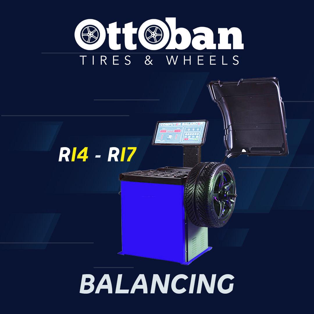 Balancing 4 Roda Ottoban
