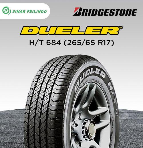 Bridgestone Dueler H/T 684 265/65 R17
