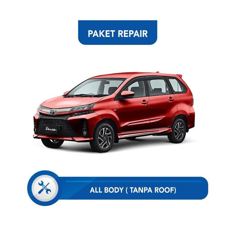 Subur OTO Paket Jasa Reparasi & Cat Mobil for Toyota Avanza Veloz [All Body Tanpa Roof]