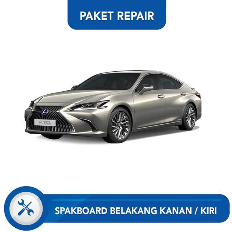 Subur OTO Paket Jasa Reparasi Ringan & Cat Spakbor Belakang Kanan atau Kiri Mobil for Lexus ES