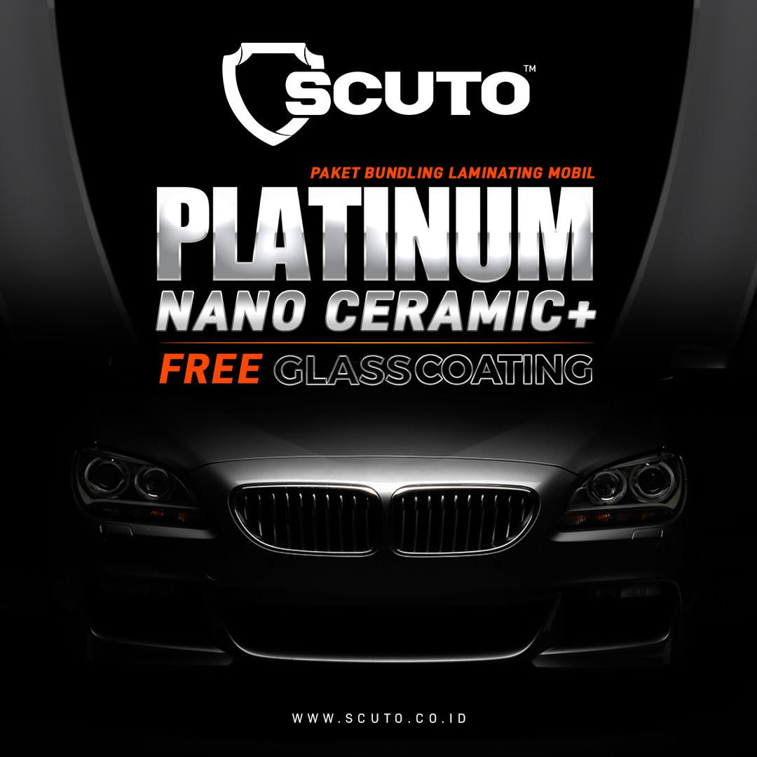 Scuto Nano Ceramic Platinum + Glass Coating