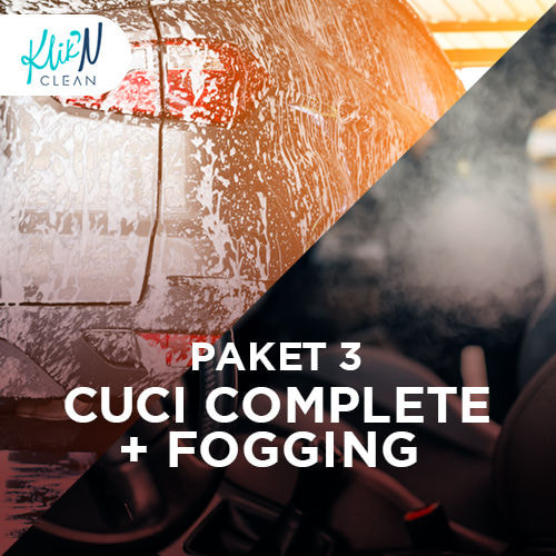 Cuci Komplit + Fogging