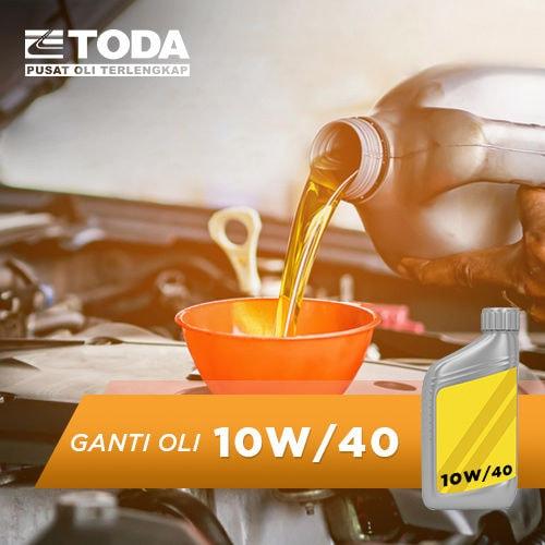Paket Ganti Oli 4 Liter - 10W/40