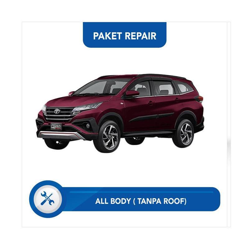 Subur OTO Paket Jasa Reparasi & Cat Mobil for Toyota Rush [All Body Tanpa Roof]
