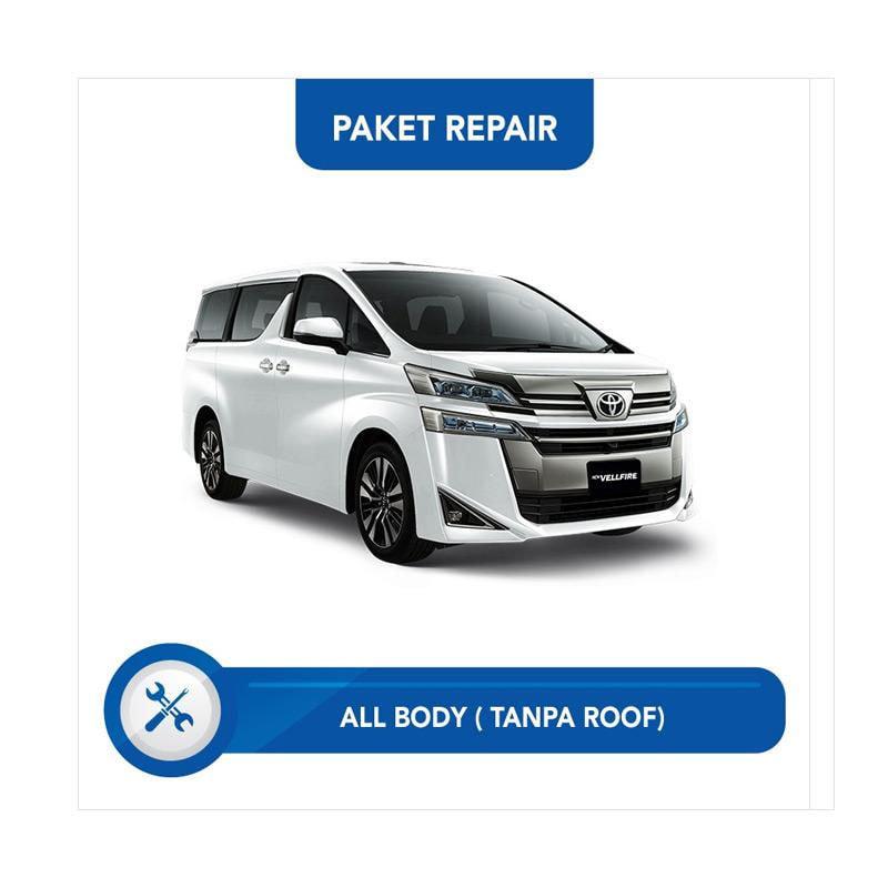 Subur OTO Paket Jasa Reparasi & Cat Mobi for Toyota Vellfire [All Body Tanpa Roof]