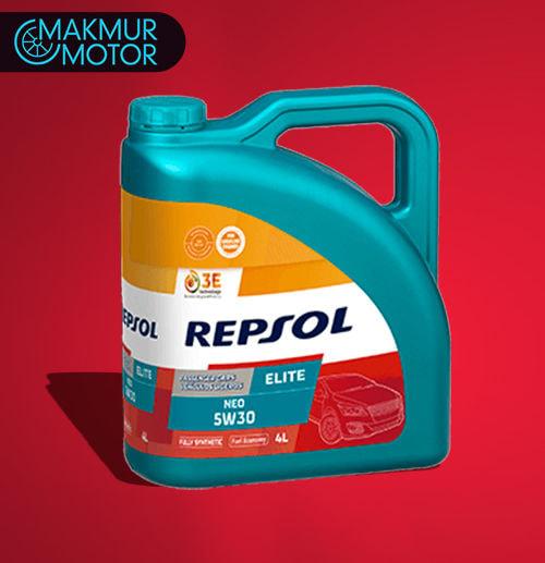 Ganti Oli 4 Liter - REPSOL 5W30 Full Syntetic (Jakarta)