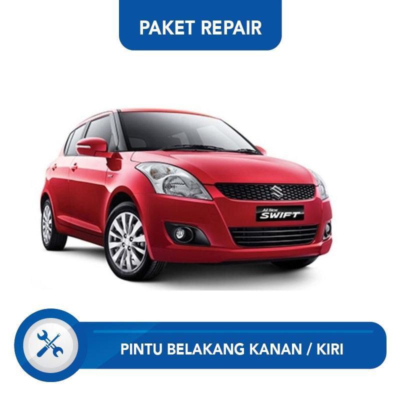 Subur OTO Paket Jasa Reparasi Ringan & Cat Pintu Belakang Kanan dan Kiri Mobil for Suzuki Swift