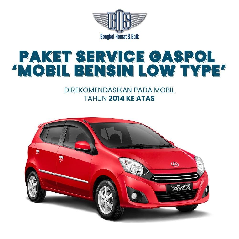 Paket Service Gaspol Mobil Bensin
