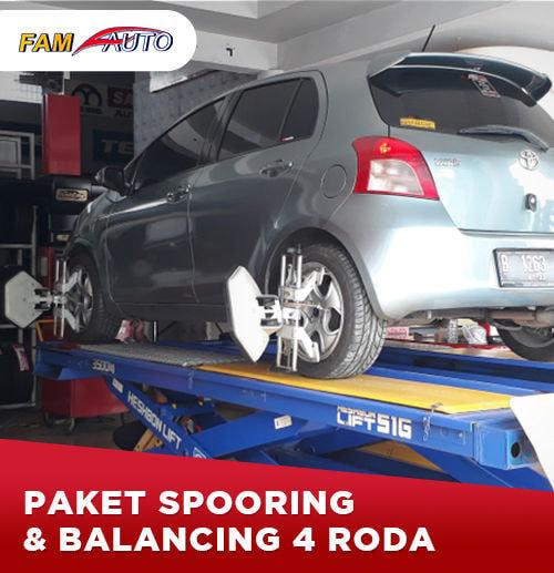 Paket Balancing 4 Roda