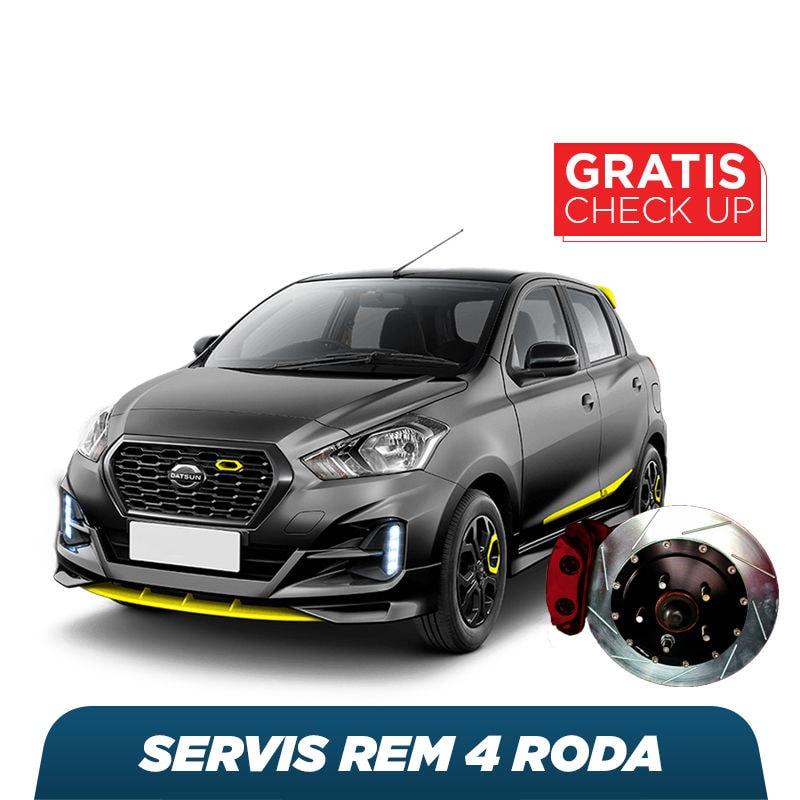 Servis Rem (4 Roda) + Free Check-up 58 Komponen Kendaraan