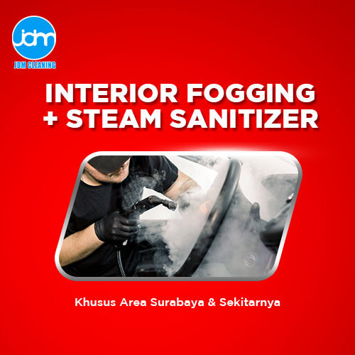 Fogging Disinfektan + Steam Sanitizer