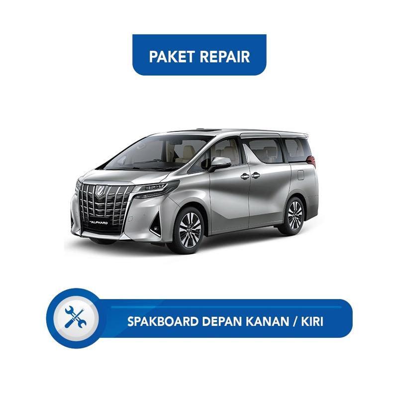 Subur OTO Paket Jasa Reparasi Ringan & Cat Spakbor Depan Kanan atau Kiri Mobil for Toyota Alphard