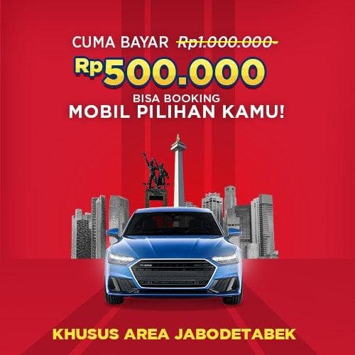 Booking Fee Mobil Pilihan Garasi.id Jabodetabek