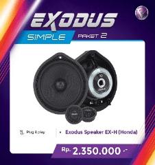 VENOM Speaker 2 Way EXODUS EX-H (HONDA)