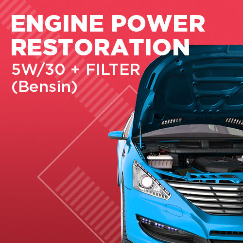 Engine Power Restoration + Oli 5W/30 (up to 4 Liter)