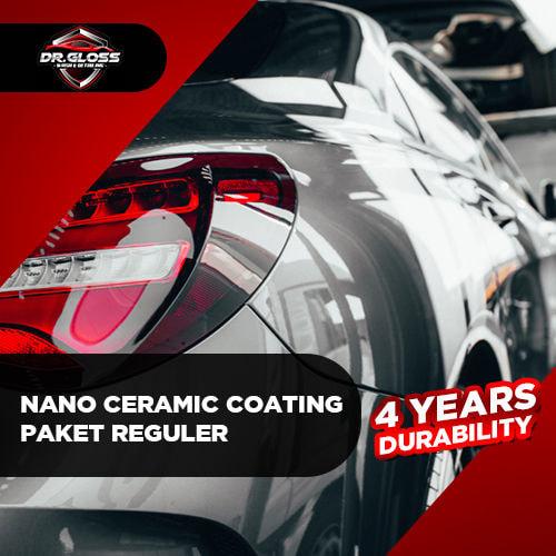 Nano Ceramic Coating Paket Reguler (4 years durability)