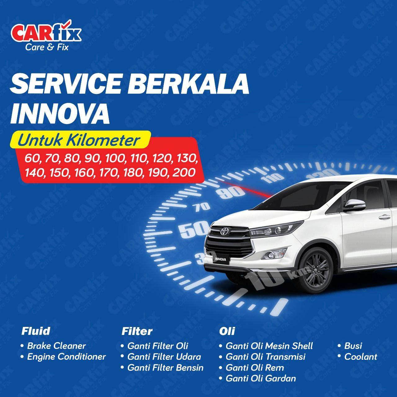 Paket Service Berkala Innova - Jateng+DIY