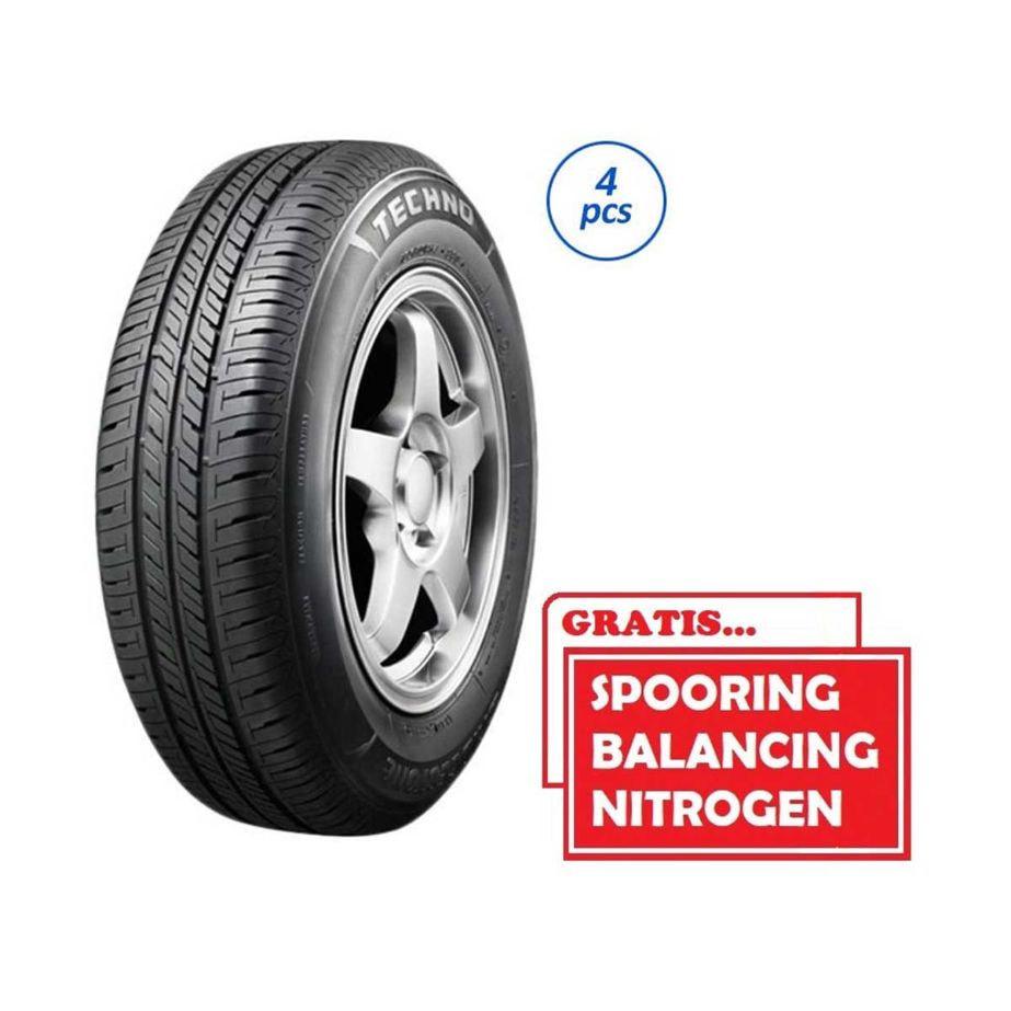 Bridgestone New Techno 185-55 R15 82H SP Ban Mobil [Gratis Pasang,Spooring Balance & Nitrogen]