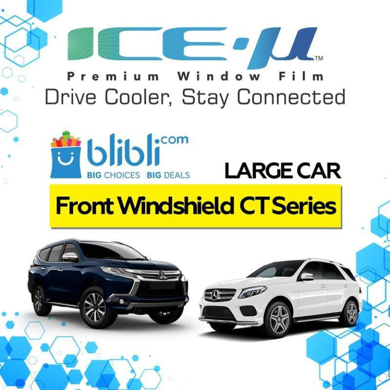 ICE-U Kaca Fim Mobil Kaca Depan CT Series For Large Car