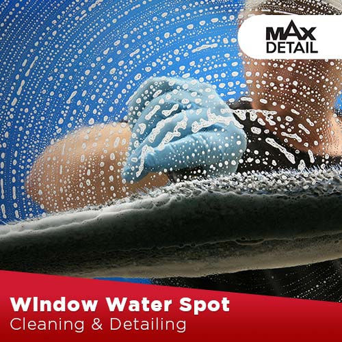 Windows Water Spots Cleaning and Coating