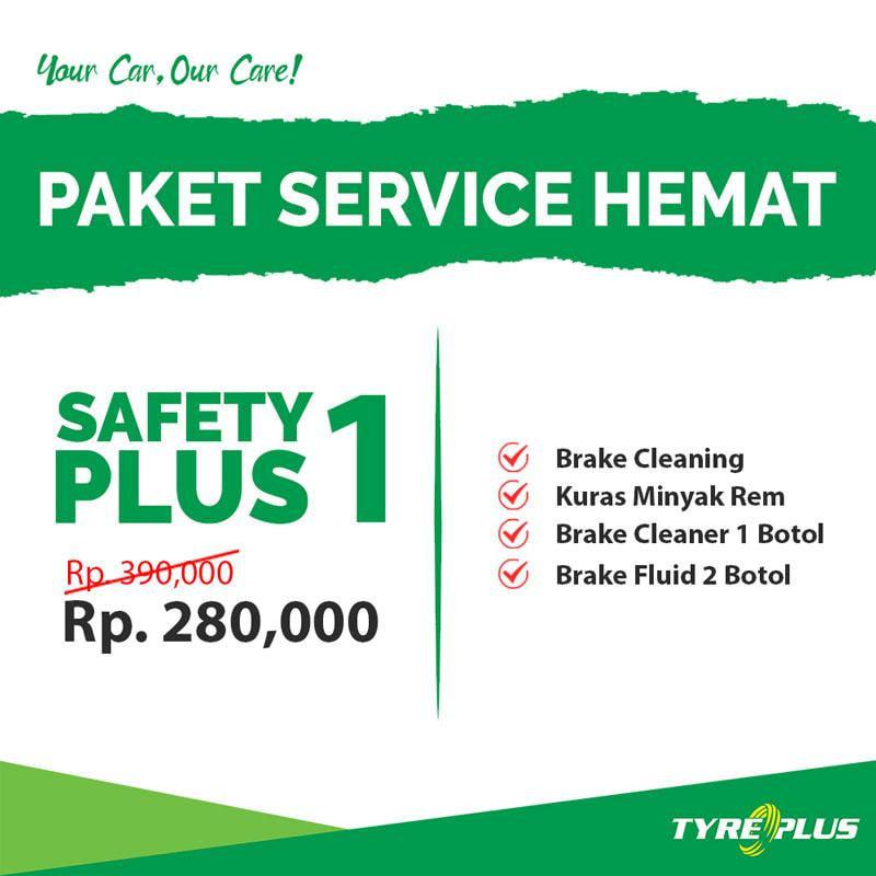 Tyreplus Paket Perawatan Mobil [Safety Plus 1]