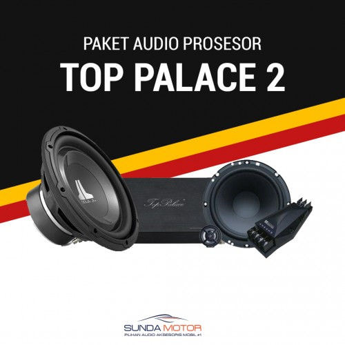 Paket Audio 2 Ways Processor Top Palace 2