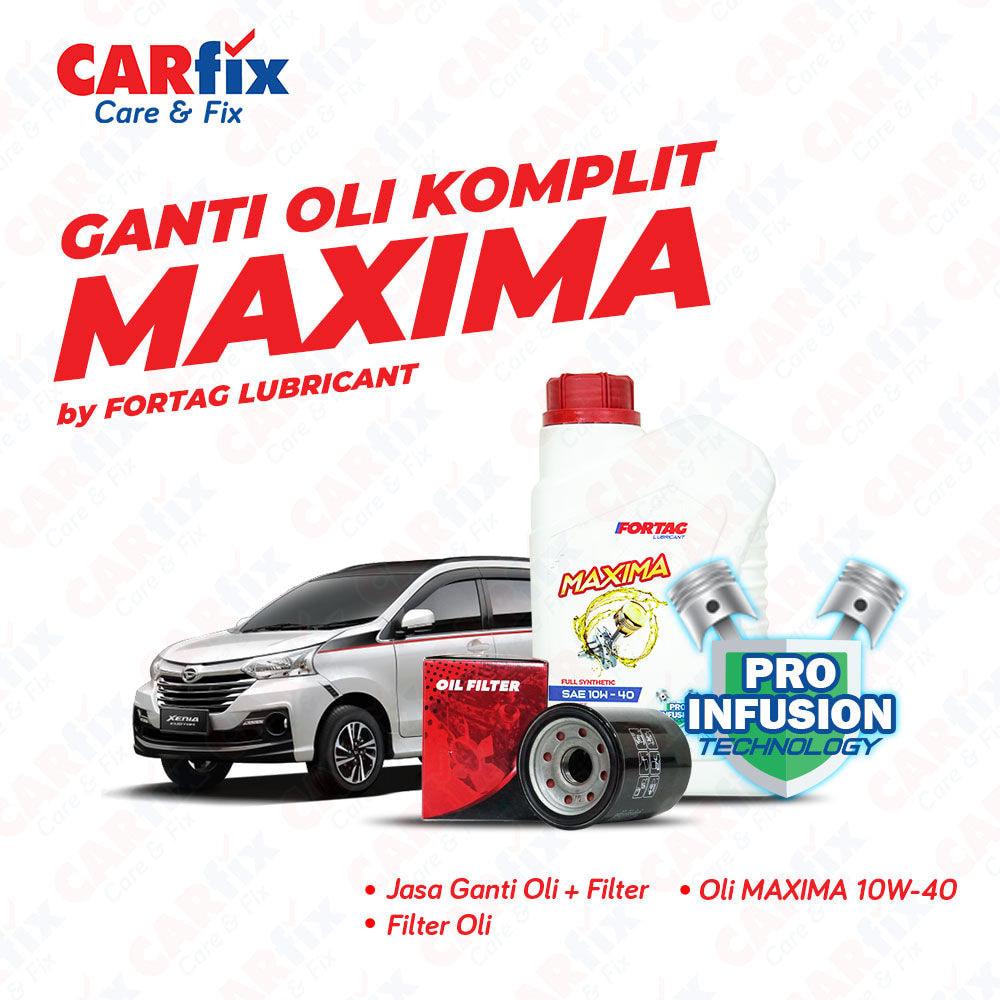 Ganti Oli Komplit Fortag Maxima - Jateng+DIY