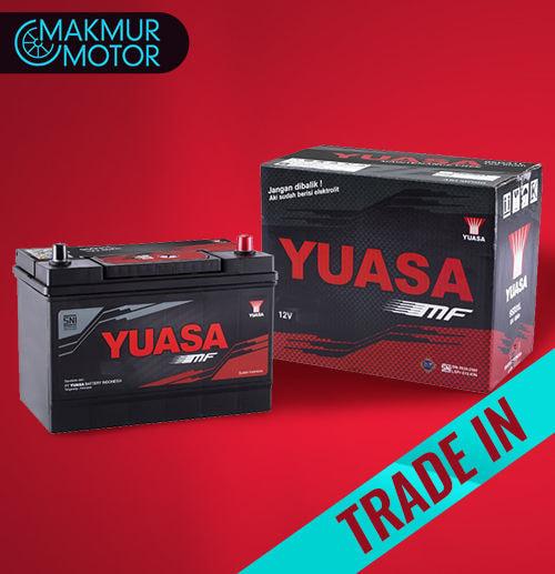Yuasa MF LN2 & LN3 ( Trade In ) Aki Mobil untuk INNOVA Reborn / Fortuner