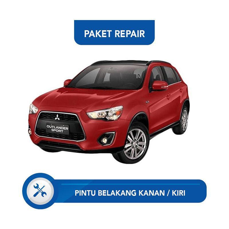 Subur OTO Paket Jasa Reparasi Ringan & Cat Mobil for Mitsubishi Outlander [Pintu Belakang Kanan - Kiri]