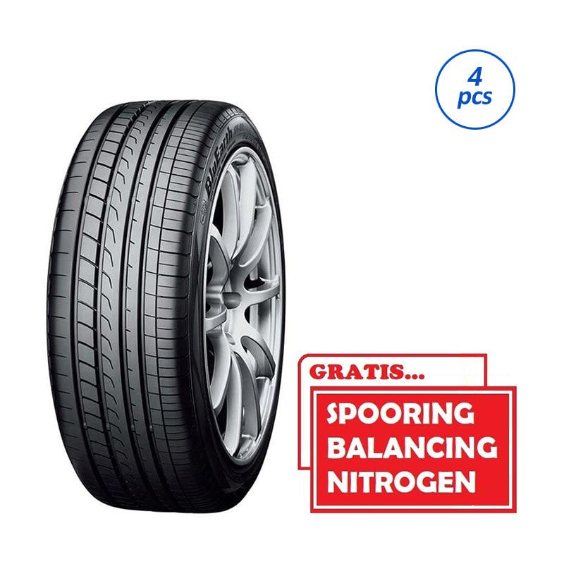 Yokohama Bluearth RV02 245/40-R20 99W SP Ban Mobil [Gratis Pasang/ Spooring Balance/ Nitrogen]