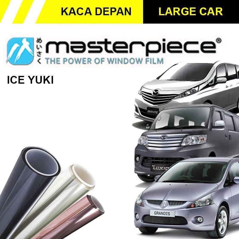 Masterpiece Ice Yuki Kaca Film Mobil for Large Car [Original/ Kaca Depan]