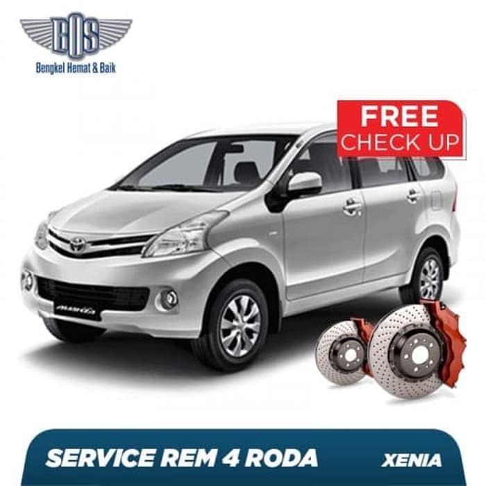 Service Rem 4 Roda Deluxe Free Checkup 50 Komponen Kendaraan