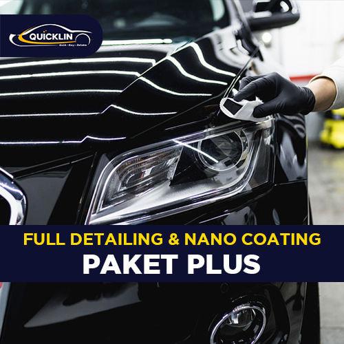 Full Detailing & Nano Coating (Paket Plus)